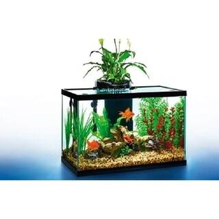 AquaDuo 10 Gallon LED Aquarium Kit - black - 10 gallon/Black