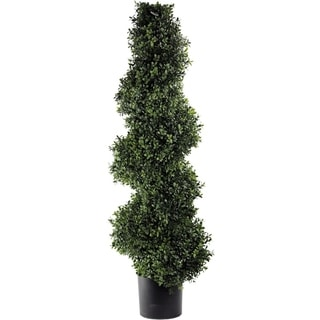 Regency Plastic Artificial Deluxe Spiral Boxwood Topiary