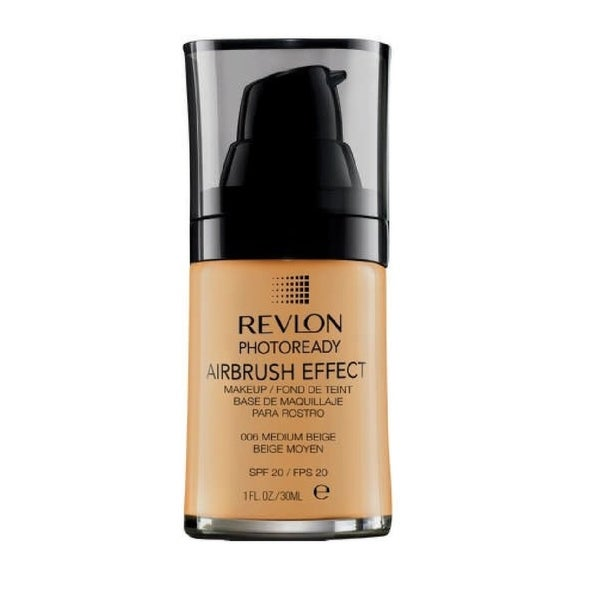 Revlon Photoready Airbrush Effect Makeup Foundation Medium Beige #006