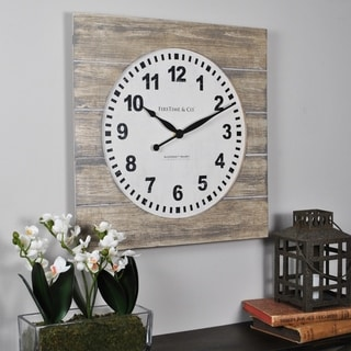 FirsTime & Co.® Jackson Square Wall Clock - 15.5""