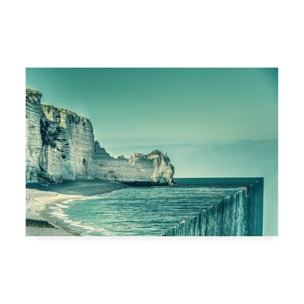 Marcus Hennen 'The End Waterfall' Canvas Art. Opens flyout.