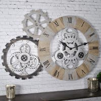 FirsTime & Co.® Gear Collection Wall Clock