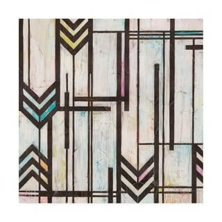 June Erica Vess 'Deco Abstraction I' Canvas Art