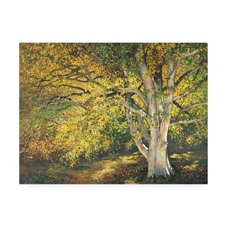 Graham Reynolds 'Golden Light I' Canvas Art