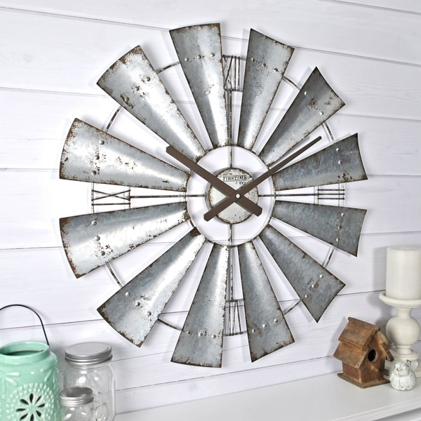 Shop Firstime Amp Co 174 Windmill Wall Clock Free Shipping