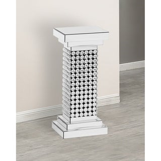 Best Quality Furniture Mirrored Crystal Pedestal