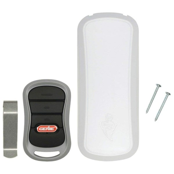 Shop Genie Garage Door Opener 3 Button Remote And Wireless