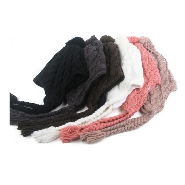 Women's Trapper Knit Winter Ear Flap Hat P212. Opens flyout.