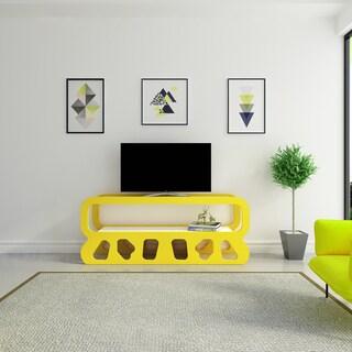 Decorotika Flintstones Open-shelf TV Stand Media Console