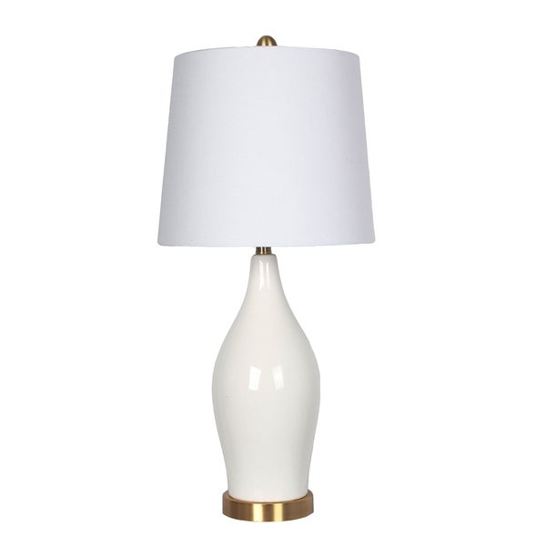 Shop Ceramic Table Lamp Usb Port White 31 Free Shipping Today