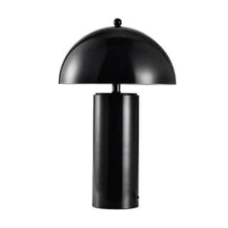 "Link to Metal Dome Table Lamp, Black, 22"" Similar Items in Table Lamps"