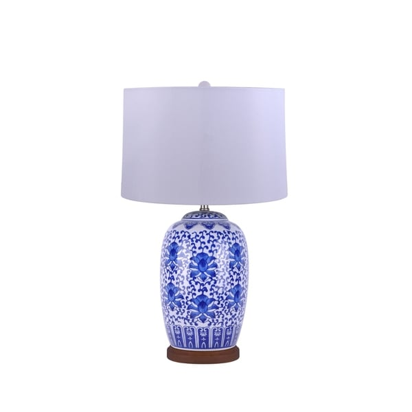 Blue And White Oriental Table Lamps Gnubies Org