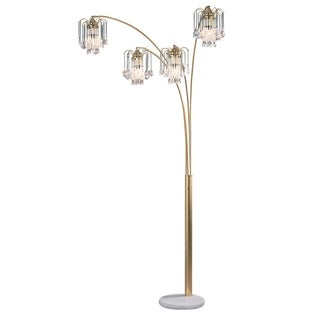 French Gold 4-arch Floor Lamp
