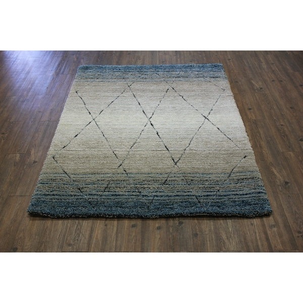 Discount 8x11 Area Rugs: Shop Blue Contemporary 8x11 Area Rug