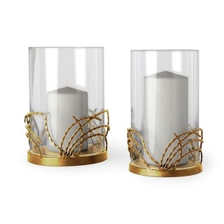 Link to Mercana Cutlass II (Set of 2) Table Candle Holder Similar Items in Decorative Accessories