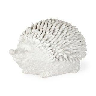 Mercana Cameron White Resin Hedgehog Decorative Storage Box