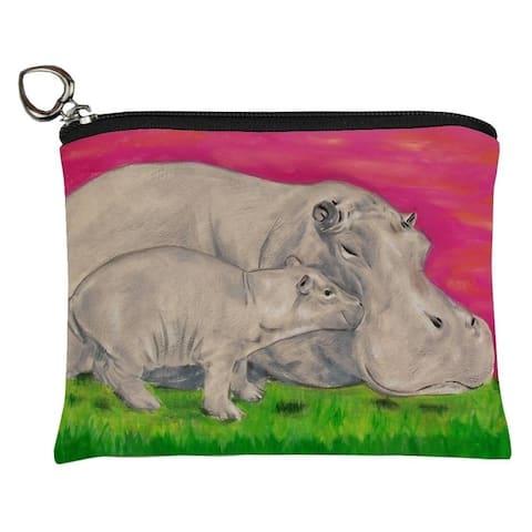 Hippo Change Purse -Communal Clan