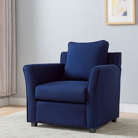 Furniture of America Golt Contemporary Padded Club Chair