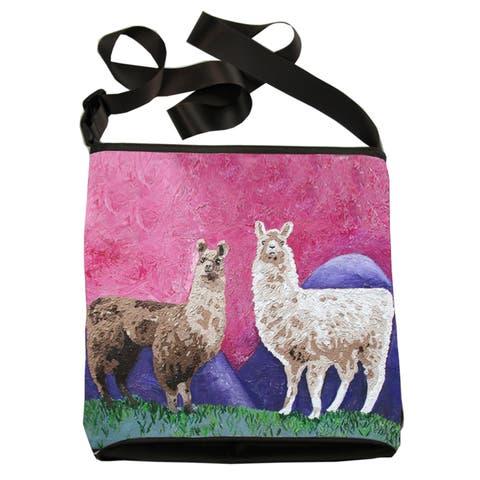 Llama Kitten Cross Body Bag - Andeans