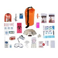 1 Person Deluxe Survival Kit (72 plus Hours) Waterproof Dry Bag