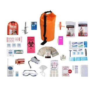 1 Person Deluxe Survival Kit (72 plus Hours) Waterproof Dry Bag