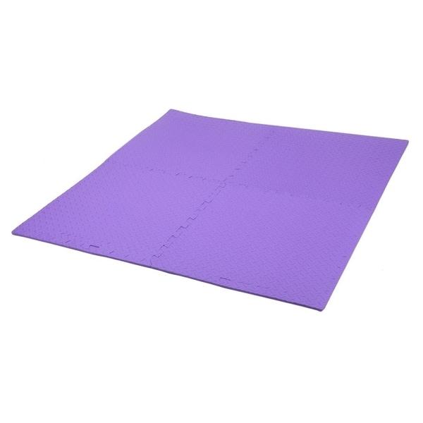 24 Sq Ft EVA Foam Floor Mat Interlocking Exercise Gym Flooring 6pcs Each GETRUNG