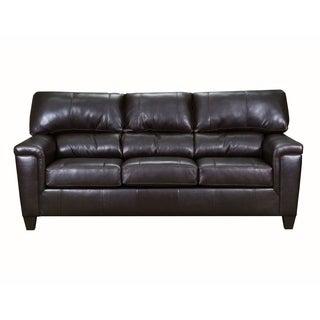 David Top Grain Leather Sofa
