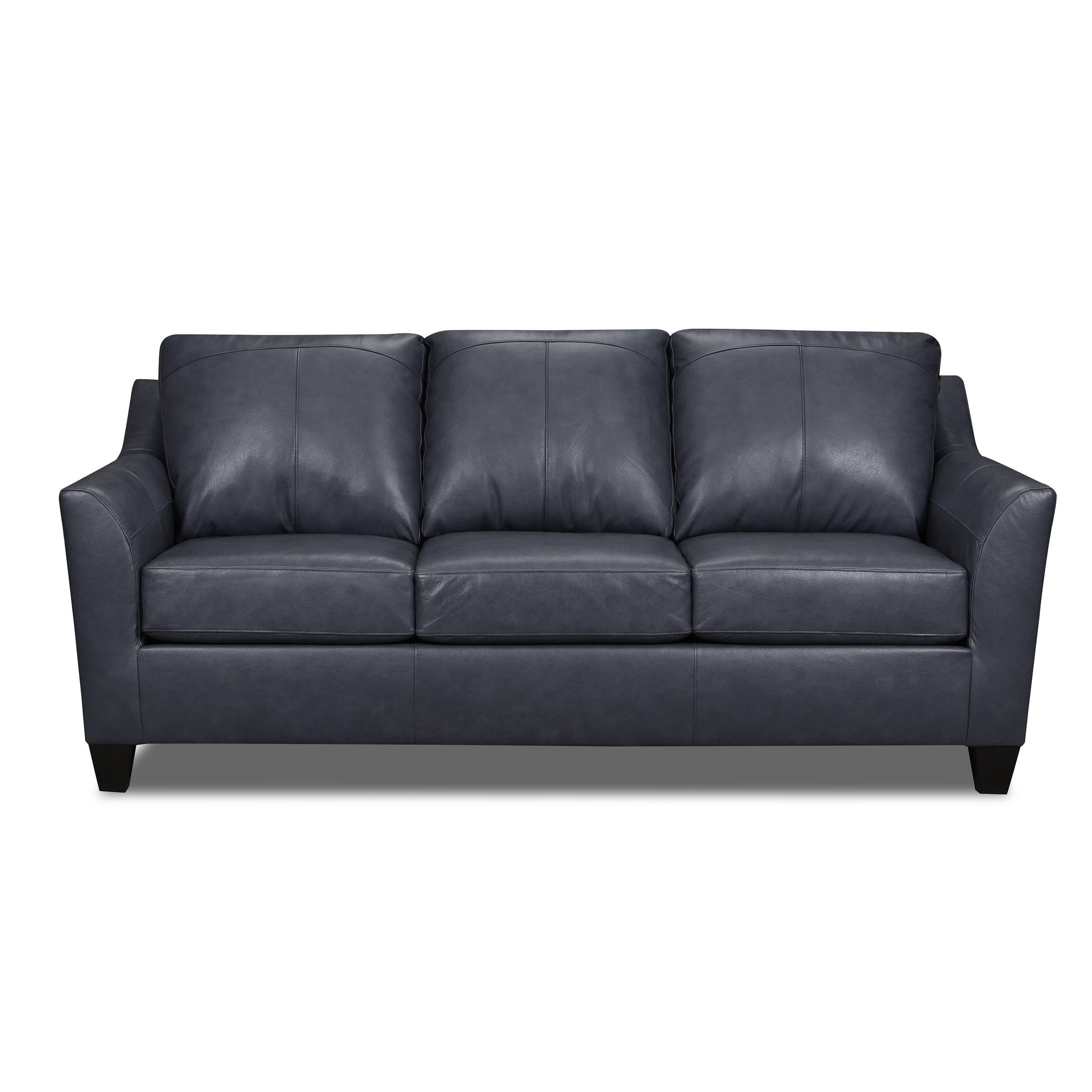Shop Black Friday Deals On Lance Top Grain Leather Queen Sleeper Sofa Overstock 25627680