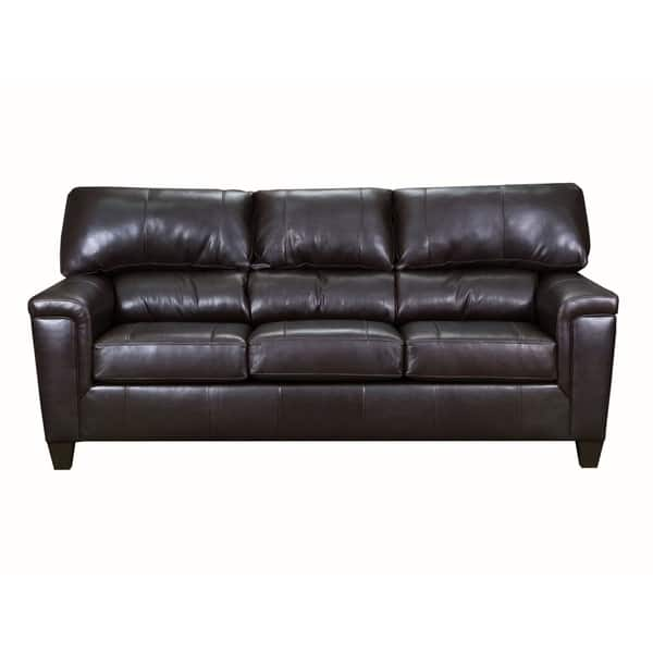 Outstanding Shop David Top Grain Leather Queen Sleeper Sofa On Sale Caraccident5 Cool Chair Designs And Ideas Caraccident5Info