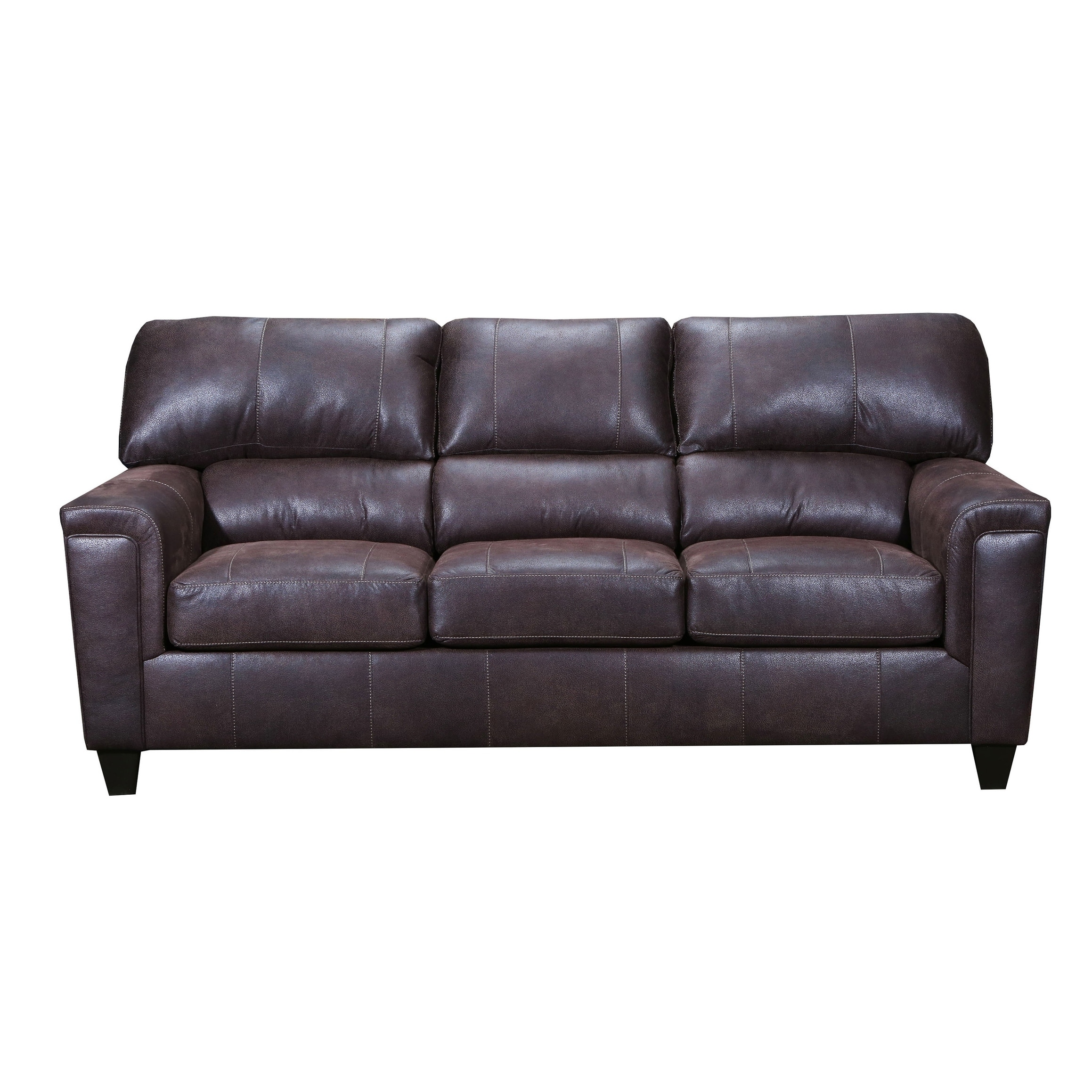 - Shop Moa Faux Leather Queen Sleeper Sofa - On Sale - Overstock