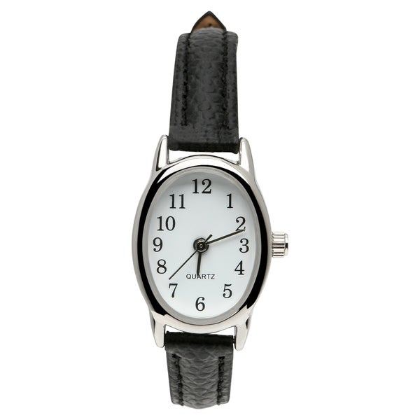 5c2dc025c43 Shop Kmart Generic Womens leather black Watch - Free Shipping On ...