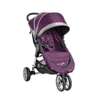Baby Jogger City Mini 3 Wheel Single Stroller - Purple/Gray