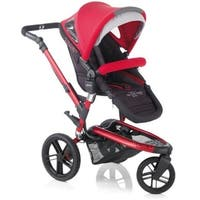 Jane Trider Extreme 3 Wheel Baby Stroller - Deep Red