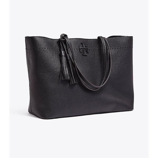 69dc130731e Shop Tory Burch MCGRAW TOTE Black/Royal Navy - Free Shipping Today ...
