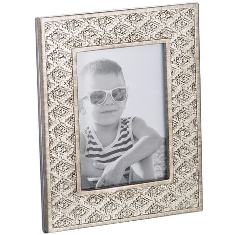 Dublin 5x7 Picture Frame (Brushed Silver)