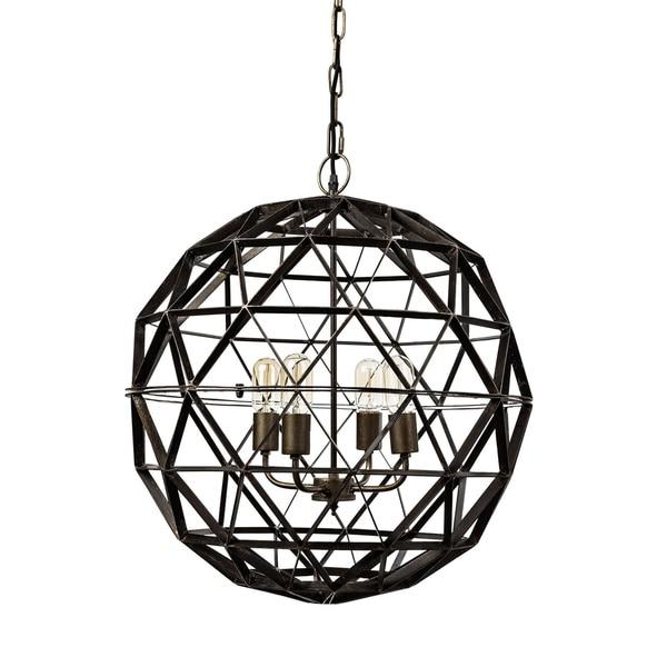 shop mercana dyson ii metal chandelier - ships to canada - overstock