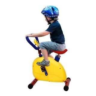 Kinbor Fitness Exercise Equipment for Kids Children Ride Bike Stationary Bike Chidren's Day Birthday Gift