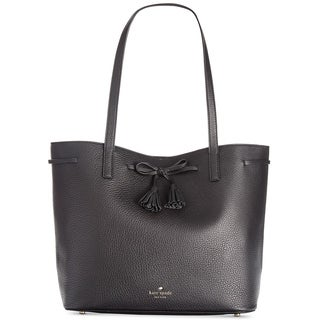 Kate Spade New York Hayes Street Nandy Black Leather Tote