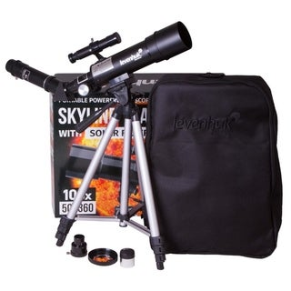 Link to Levenhuk Skyline Travel Sun 50 Telescope - Black Similar Items in Optics & Binoculars