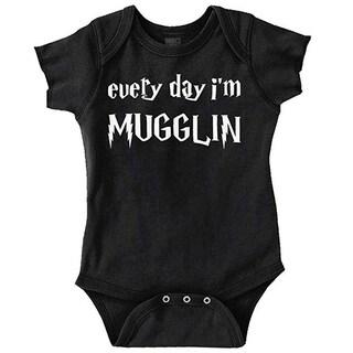Every Day Mugglin Baby Bodysuit