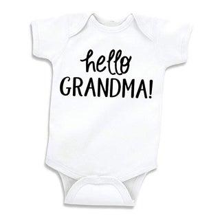 Hello Grandma Baby Bodysuit