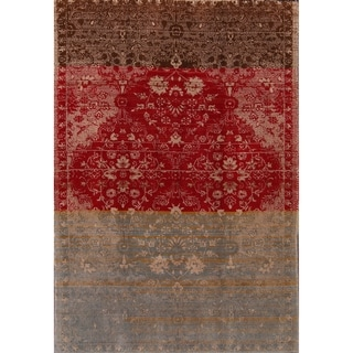 """Oriental Hand Knotted Vintage Shiraz Persian Area Rug for Bedroom - 7'2"""" x 4'11"""""""