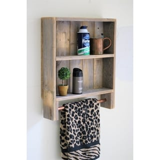 Double Copper Bar Towel Rack