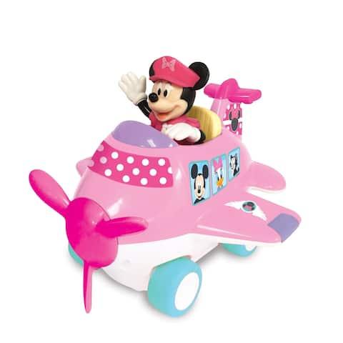 Kiddieland Disney Minnie Mouse & Friends Airplane Adventure Toy