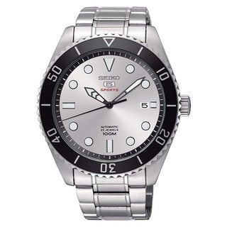 Seiko 5 Sports Automatic Stainless Steel Mens Watch SRPB87K1
