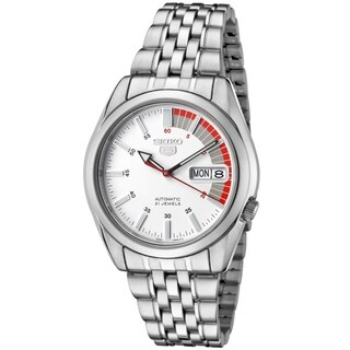 Seiko Automatic Stainless Steel Mens Watch SNK369K1
