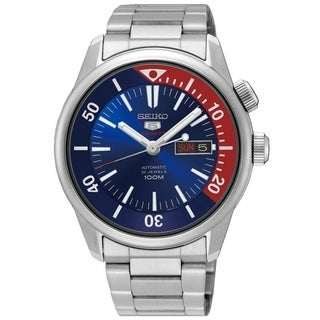 Seiko 5 Sports Automatic Stainless Steel Mens Watch SRPB25K1