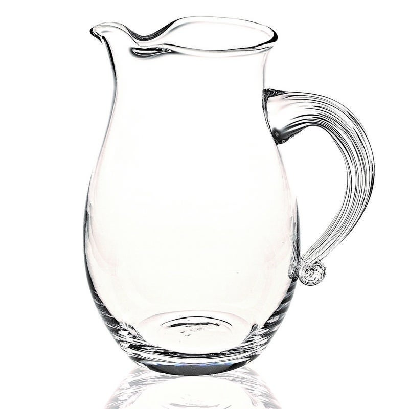 The Classic European Mouth Blown Lead Free Crystal Geneva Pitcher 54 Oz H10 Overstock 25633491