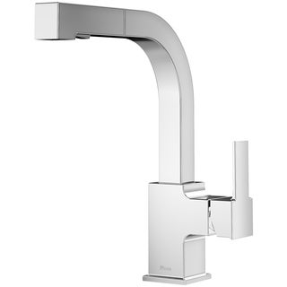 Pfister Arkitek 1-Handle, Pull-Out Kitchen Faucet Polished Chrome