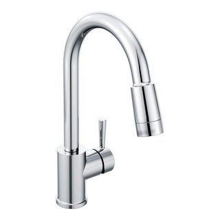 Moen Edgestone One-Handle Pulldown Kitchen Faucet Chrome